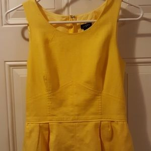 J Crew size 0 yellow dress